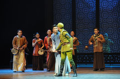 The Japanese Army Da Zuo's curiosity-The third act of dance drama-Shawan events of the past Stock Photography
