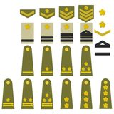 Japanese army insignia Royalty Free Stock Photos