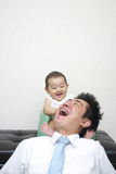 Japanese baby Stock Images