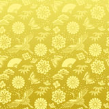 Japanese background. Background in japanese traditional design and flower Royalty Free Stock Photo