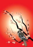 Japanese background Stock Image