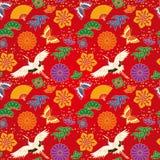 Japanese background Royalty Free Stock Photo