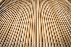 Japanese bamboo fence Stock Photo