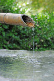 Japanese Bamboo Fountain Stock Images