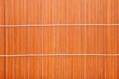 Japanese  bamboo mat Stock Photos
