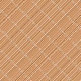 Japanese bamboo mat. Diagonal. Seamless pattern. Royalty Free Stock Image