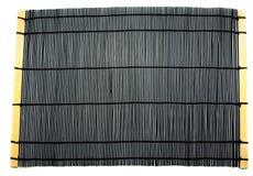 Japanese bamboo rug Stock Photos