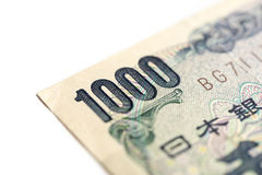 Japanese Bank note Stock Photography