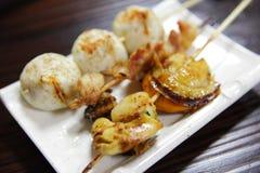Japanese bbq food Stock Image