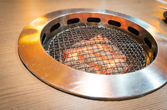 Japanese BBQ grill Royalty Free Stock Photography