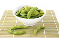 Japanese beans Royalty Free Stock Images