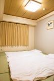 Japanese bedroom original Royalty Free Stock Photography
