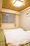 Japanese bedroom original Stock Photography
