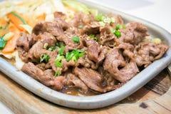 Japanese beef teriyaki grill Stock Photo