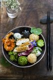 Japanese bento bowl lunch royalty free stock photos