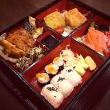 Japanese bento box Royalty Free Stock Photo