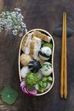 Japanese bento box lunch royalty free stock images