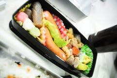Japanese Bento (rice box). Japanese food rice box for lunch (Bentou Royalty Free Stock Image