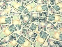 Japanese Bills Royalty Free Stock Photos