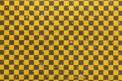 Japanese black gold checkered pattern paper texture background. Japanese black gold checkered pattern traditional paper texture background Stock Photos