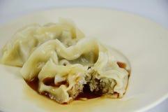 Japanese boiled Dumplings Stock Image