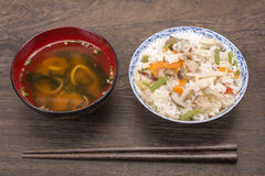 Japanese boiled rice Stock Photography