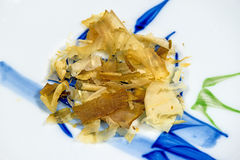 Japanese bonito flakes Royalty Free Stock Photo