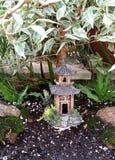 Japanese Bonsai Garden Royalty Free Stock Photography