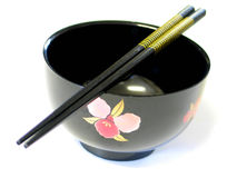 Japanese Bowl. Japanese soup bowl Royalty Free Stock Photography