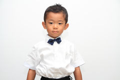 Japanese boy in formal dress Stock Image
