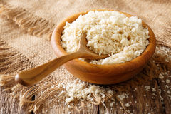 Japanese bread crumbs Panko ingredient for breading in a bowl cl Stock Images