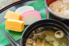Japanese Breakfast Royalty Free Stock Photography