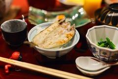 Japanese breakfast Royalty Free Stock Photo