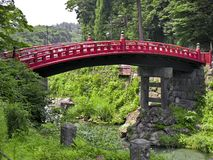 Japanese Bridge royalty free stock photo