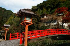 Japanese Bridge Stock Photography