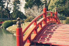 Japanese bridge Royalty Free Stock Image