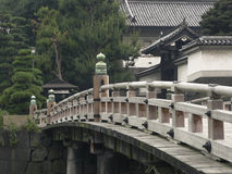 Japanese bridge Royalty Free Stock Photos
