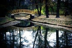 Japanese Bridge Stock Photography