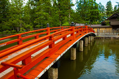 Japanese Bridge Royalty Free Stock Images