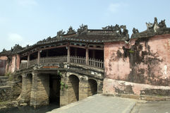 Japanese bridge in Hoi An Royalty Free Stock Photos