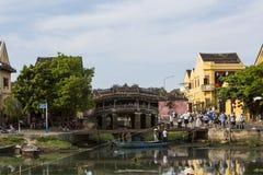 The Japanese bridge, Hoi An. It's the Japanese bridge in Hoi An, Vietnam Royalty Free Stock Image
