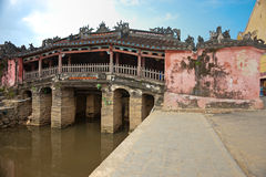 Japanese Bridge in Hoi An. Vietnam Stock Image