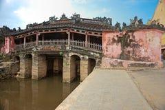 Japanese Bridge in Hoi An. Vietnam Stock Image