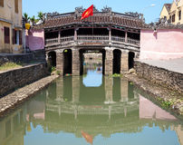 Japanese bridge Hoi An Royalty Free Stock Image