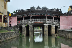 The Japanese Bridge in Hoi An, Vietnam Stock Image