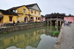 The Japanese Bridge in Hoi An, Vietnam Royalty Free Stock Photo