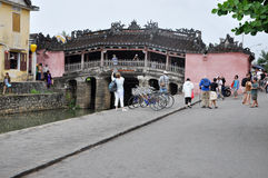 The Japanese Bridge in Hoi An, Vietnam Stock Photography