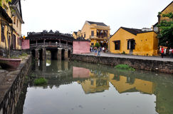 The Japanese bridge, Hoi An, Vietnam Royalty Free Stock Photography