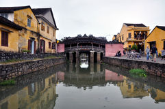The Japanese bridge, Hoi An, Vietnam Royalty Free Stock Image