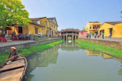 Japanese bridge in Hoi An, Vietnam Stock Photography